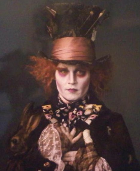 Johnny Depp is mad as a hatter if he thinks that lipstick works for him