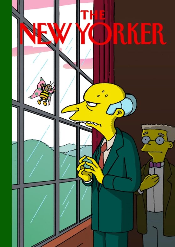 Mr Burns is a Tilley for the new century