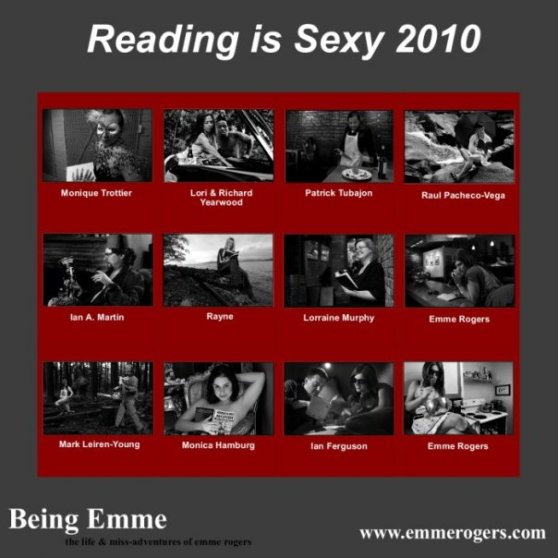 Reading is Sexy back cover