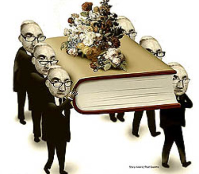 A wake for books