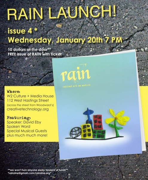 Rain launch party