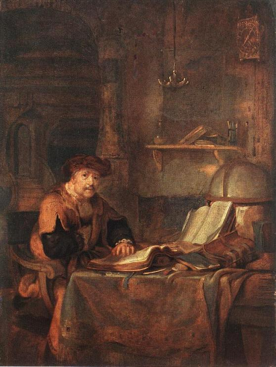 Scholar by Eeckhout Gerbrand Van Den