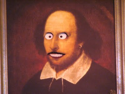 Shakespeare has had too much coffee