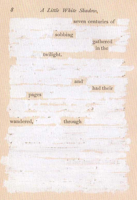 Mary Ruefle found poem