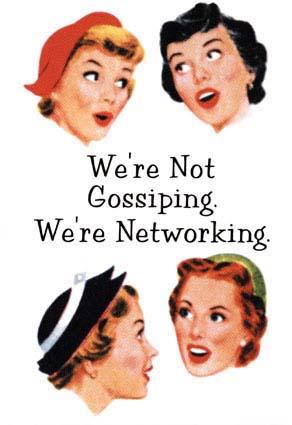 Gossip: this r srs bzns