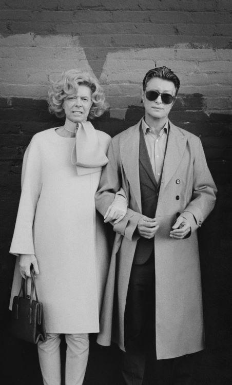 David and Tilda as Tilda and David
