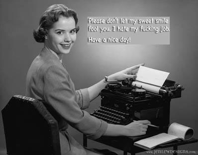 You think YOUR job sucks?