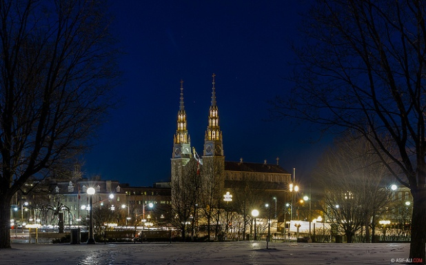 Notre-Dame Cathedral in Ottawa via Asif A. Ali on Flickr